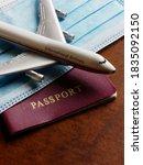 travelling during corona virus... | Shutterstock . vector #1835092150