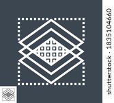 layers thin line vector icon... | Shutterstock .eps vector #1835104660
