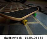 A Skateboard Is A Board That...