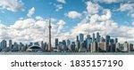 Panoramic View Of Toronto...