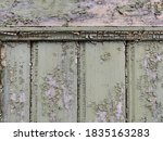 Wooden Door Or Wall With Old...