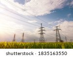 High Voltage Power Lines...