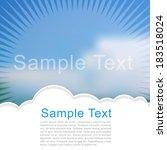 happy summer | Shutterstock .eps vector #183518024