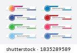 social media lower third sign... | Shutterstock .eps vector #1835289589