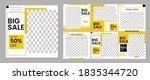 social media template set...   Shutterstock .eps vector #1835344720
