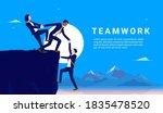 teamwork diversity   diverse... | Shutterstock .eps vector #1835478520