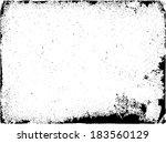grunge frame set. vector... | Shutterstock .eps vector #183560129