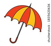 Parasol Clip Art Isolated On...