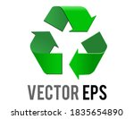 the isolated vector green... | Shutterstock .eps vector #1835654890