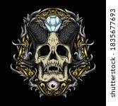 artwork illustration and t... | Shutterstock .eps vector #1835677693