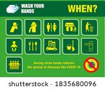 set of wash your hand mandatory ... | Shutterstock .eps vector #1835680096
