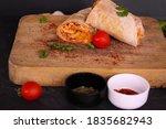 Delicious Chicken Burrito With...
