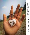 Heart Shape Pendant In Hand ...