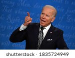Small photo of 10/18/2020,USA:Democratic Presidential candidate and former US Vice President Joe Biden speaks during the first presidential debate at the Case Western Reserve University and Cleveland Clinic.