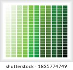 green color palette  color... | Shutterstock .eps vector #1835774749