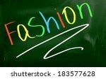 fashion concept | Shutterstock . vector #183577628