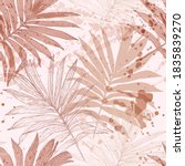 abstract tropical foliage... | Shutterstock .eps vector #1835839270