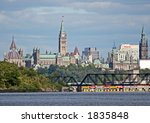 View Of Ottawa Downtown Core