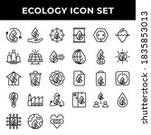 Ecology Icon Set Include...