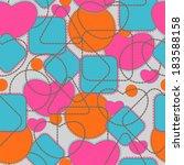 seamless pattern | Shutterstock .eps vector #183588158