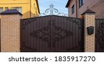New Forged Metal Double Gates...