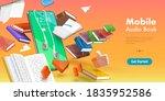 3d vector conceptual... | Shutterstock .eps vector #1835952586
