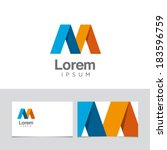icon design element with... | Shutterstock .eps vector #183596759