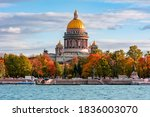 St. Isaac's Cathedral In Autumn ...