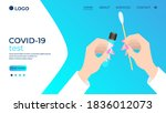 hands of a doctor performing a... | Shutterstock .eps vector #1836012073