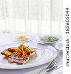 viennese tafelspitz   prime... | Shutterstock . vector #183603044