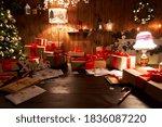 Santa Claus Workshop Home...