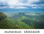 subtropical rainforest and... | Shutterstock . vector #183616628