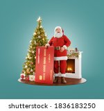 Christmas 3d Illustration Of...