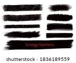 grungy hand made vector design...   Shutterstock .eps vector #1836189559