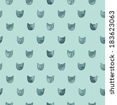 seamless pattern with... | Shutterstock . vector #183623063
