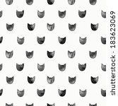 seamless pattern with... | Shutterstock . vector #183623069