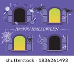 simple window material for... | Shutterstock .eps vector #1836261493