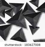 abstract modern background with ... | Shutterstock . vector #183627008