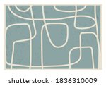 trendy abstract aesthetic... | Shutterstock .eps vector #1836310009