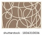 trendy abstract aesthetic... | Shutterstock .eps vector #1836310036