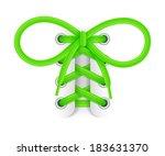 shoelaces. element of sneaker....   Shutterstock .eps vector #183631370