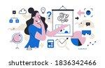 abstract illustration of... | Shutterstock .eps vector #1836342466