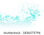light blue  green vector... | Shutterstock .eps vector #1836375796