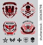art,biker,black,chopper,cool,cross,crossbones,eagle,emblem,flames,gothic,heraldry,lightening,motor,motorcycle
