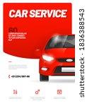 vector layout design for car... | Shutterstock .eps vector #1836388543