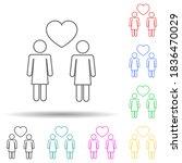 loving girls multi color style...