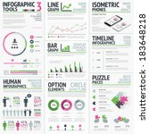 infographic vector elements... | Shutterstock .eps vector #183648218