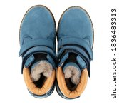 Top View Of Warm Fur Waterproof ...