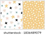 simple irregular starry... | Shutterstock .eps vector #1836489079