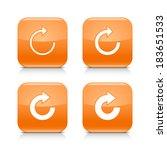 4 white arrow orange icon
